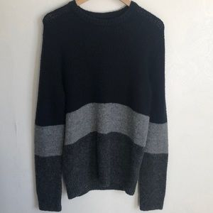 Frank and Oak block colour sweater - M